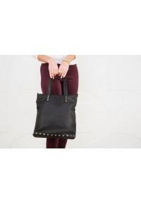Чёрная кожаная сумка int h-31286
