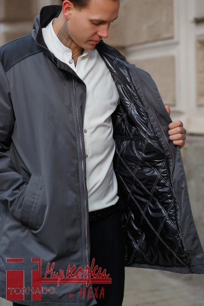 Den- куртка из шотландской ткани