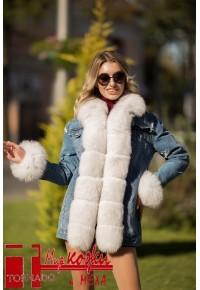 Джинсовая куртка-парка G-05