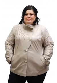 Кожаная женская куртка lzr-182