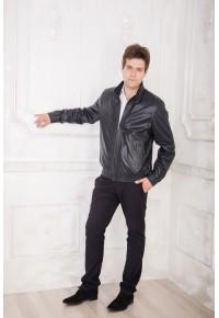 Мужская кожаная куртка из перфорированной перчаточной кожи : glp-1177