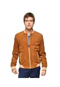 Замшевая мужская куртка спортивного стиля glp-1170