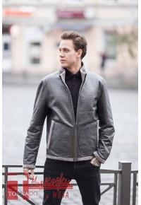 Двухсторонняя мужская куртка - тоненькая шубка Glp 1703